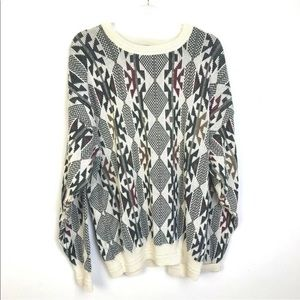 Vintage 80's Sweater Retro Fashion Southwestern